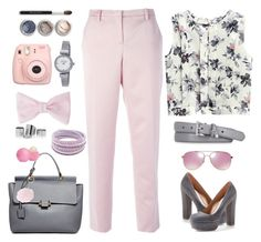 """""""Untitled #20"""" by artpolina ❤ liked on Polyvore featuring N°21, Lanvin, Steve Madden, Bare Escentuals, Swarovski, Kenneth Cole, American Apparel, Michael Kors and Eos"""