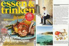 """@A_Genestra Chef #Chef #Mallorca Andreu Genestra en el nº 6/2012 de """"Essen & Trinken"""", uno de los mejores magazines alemán de concina"""