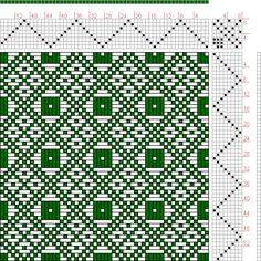 Weaving Draft Feb 1952 No. Master Weaver, Fulford, Quebec, Canada, ca Tablet Weaving, Inkle Weaving, Inkle Loom, Hand Weaving, Weaving Designs, Weaving Projects, Weaving Patterns, Knitting Patterns, Knitting Tutorials