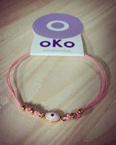 Manilla Ojos Turcos Pink @okoaccesoriosmzles