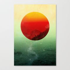 In the end, the sun rises Stretched Canvas by Budi Satria Kwan - $85.00