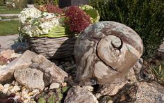 Der Steingarten Bei Atelier Silvia Parzer  Kreativer Garten   Gartenkeramik  Und Malerei