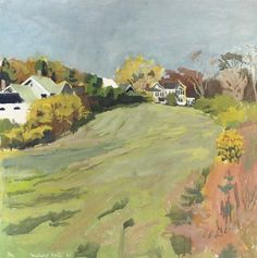 Fairfield Porter artist | Fairfield Porter Biography, Works of Art, Auction Results | Artfact