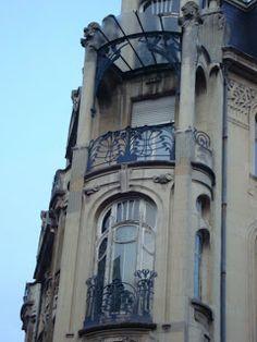 | ♕ | Paseos Art Nouveau: Heinrich Backes et Franz Lütke, 22 rue du Général de Castelnau (1902) Strasbourg