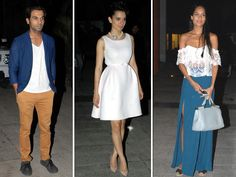 It was like double celebration for Kangna Ranaut! After the success of her latest film Queen, the actress went all out to bring in her 27th birthday on Sunday evening. And it was not just the cast of her latest film who came by to wish, but also several other A-listers from the industry. Check out some of the celebrities who dropped by to celebrate Kangna Ranaut's birthday.Image courtesy: IANSDon't Miss! Celeb Birthday Spl: Kangna Ranaut Looks That Bowled Us Over