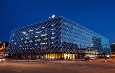 Casestory - Dynamic Media Façade renews Confederation of Danish Industry in the Heart of Copenhagen