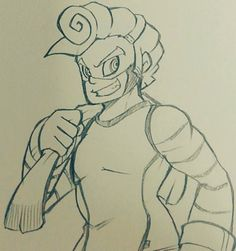 ARMS Spring Man by コハク。 (@maker801) – Twitter