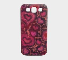 Hearts, Galaxy S3 by Julia Khoroshikh / Clipso-Callipso | Shop | Art of Where