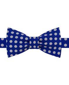67db5aec8c59 Shop Tommy Hilfiger Men's Medallion To-Tie Silk Bow Tie online at Macys.com