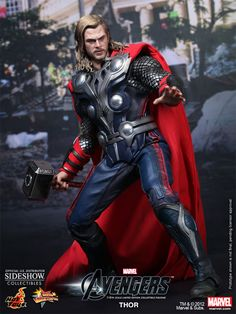 Just preordered! Thor Sixth Scale Figure - Hot Toys - SideshowCollectibles.com