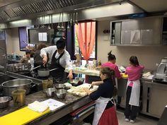 Baby Chef at work! http://bit.ly/CucinaBimbi