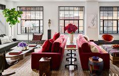 Taking a peek inside Naomi Watts and Liev Schreiber's Stunning New York City Apartment, featured in Architectural Digest magazine.