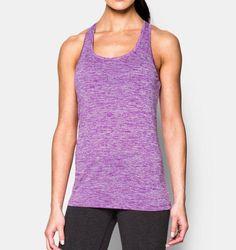 Under Armour Damen Sport Fitness Tech Twist Trainings Top 1275487-913 Rosa neu