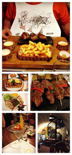 Arequipa - restaurant Zig Zag La viande est cuite sur de la pierre de lave, un délice Perou