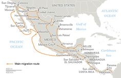 Migration Routes of America