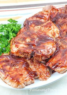 Baked Pork Chop Recipe This Simple Baked Pork Chop Recipe pertains to seasoned and seared pork chops with barbecue sauce, which are baked to perfection. This is simply delicious.With With or WITH may refer to: Barbecue Pork Chops, Teriyaki Pork Chops, Barbecue Sauce, Barbecue Chicken, Easy Pork Chop Recipes, Pork Rib Recipes, Meat Recipes, Free Recipes, Meat Meals
