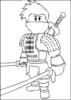 Roblox Characters Coloring Pages Games In 2019 Coloring Pages