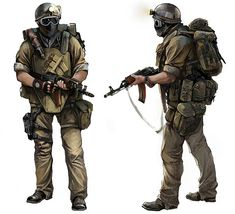 Stalker Concept from Metro 2033