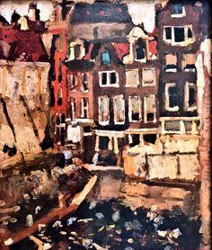 Amsterdam. La Maison de la Bourse. 1903 Georges Breitner