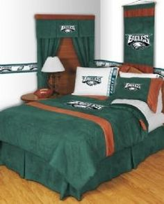 Philadelphia Eagles | Philadelphia Eagles NFL MVP Micro Suede Bedding    Bedroom... |