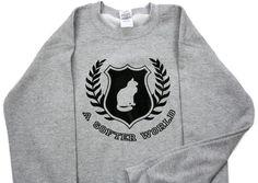A Softer World University Sweatshirt Size Medium