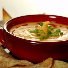 An Asian spin on classic cheese dip.