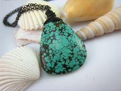 Genuine Nature Turquoise Pendant