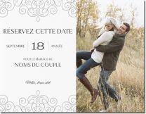 Modèles de Réservez votre journée, Réservez votre journée, Mariage Invitations et faire-part, Invitations et faire-part pour Réservez votre journée, Réservez votre journée, Mariage | Vistaprint