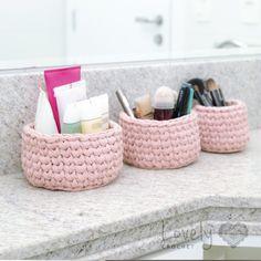 Knitting Patterns, Crochet Patterns, Design Your Own Home, Crochet Storage, Crochet Basket Pattern, Couture, Spring Nails, Storage Baskets, Lana