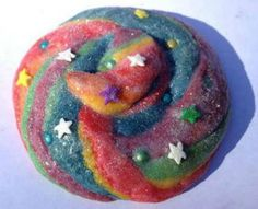 Unicorn Poop Cookies. I wouldn't call them Unicorn poop - but perhaps we could try this method to make braided cookies.