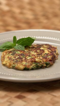These cheesy zucchini fritters are like hash browns, but a bit fancier.