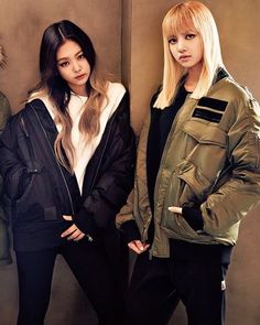 Lisa and Jennie   Blackpink