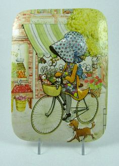 Vintage Holly Hobbie Wallpaper Charming Illustrations
