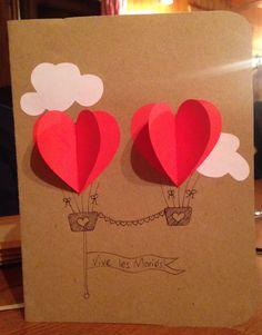 Fabriquer une carte de voeux mariage