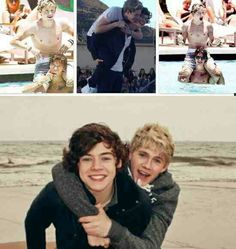 Niall and Harry! So cute