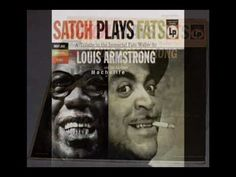 Louis Armstrong - Black and blue - Album SATCH PLAYS FATS