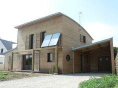 Maison RT 2012 à SULNIAC / Morbihan - a.typique Patrice BIDEAU architecte Performance énergétique recherchée : 43,7 kWep/an m2