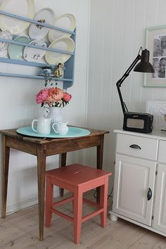 Huset ved fjorden: blomster