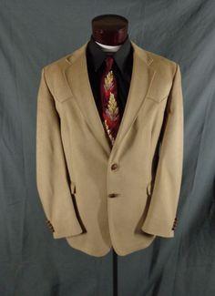 Vintage Farah Western Wear Beige Ultra Suede Rockabilly Blazer – Size 44 – VLV #FarahWesternWear #Doyoureallyneedone