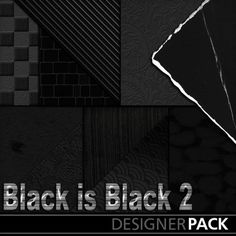 Digital Scrapbooking Kits | Black Is Black 2 | Heritage, Holidays - Father's Day, Holidays - Halloween, Military, Vintage | MyMemories
