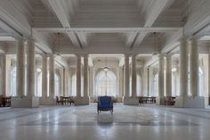 """Abandoned Italian buildings photographed by Eleonora Costi. """"This used to be a five-star hotel in northern Italy. Inside there is still the same furniture and furnishings. It is located in the city, and in the past this area generated a lot of tourism, but not any more."""""""