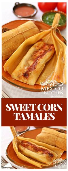 These Savory/Sweet Corn Tamalesare from the southern region of the state ofVeracruz. I found out about them while living in the city of Coatzacoalcos, a coastal town famous for its oil refineries, as well as for being the hometown of the famous Mexican actress Salma Hayek. #recipe #mexican #food #pork #tamales