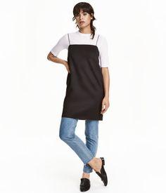 Short Scuba-look Dress   Black   Ladies   H&M US