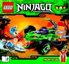 Fangpyre Truck Ambush 9445 - LEGO Ninjago - Building Instructions - LEGO.com