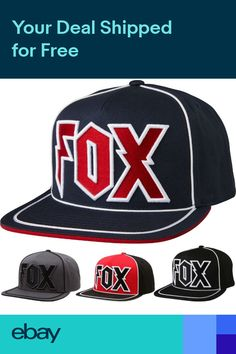 d548d6eab63 Fox Racing Faction Mens Caps Motocross Off Road Dirt Bike Snapback Hats