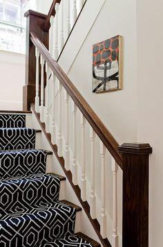 Image result for Patterned Carpet On Stairs