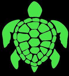 Turtle Vinyl Decal on Etsy, $4.49