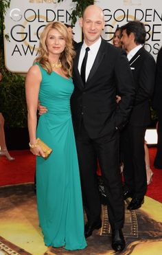 Corey Stoll  and guest #GOLDENGLOBES #STYLAMERICAN
