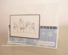 Warm Winter Wishes ~ More the Merrier set Stampin Up