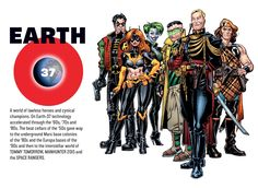 We are going back to the multiple universes again.  Both good and bad to this.  If they allow too much mixing, nobody can keep it straight.   Earth 37 by Jed Dougherty